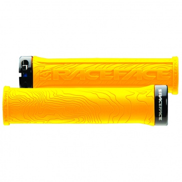 RACE FACE HALF NELSON SINGLE LOCK ON GRIP YELLOW