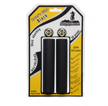 ESI MTB RACERS EDGE SILICONE GRIP BLACK
