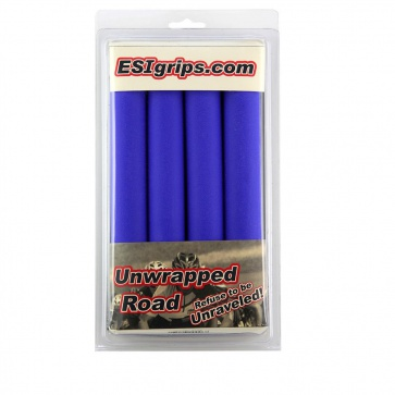 ESI ROAD UNWRAPPED SILICONE GRIP BLUE