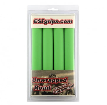ESI ROAD UNWRAPPED SILICONE GRIP GREEN