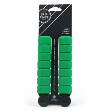 SPURCYCLE GRIPRING COMPLETE SET (14xRINGS) GREEN