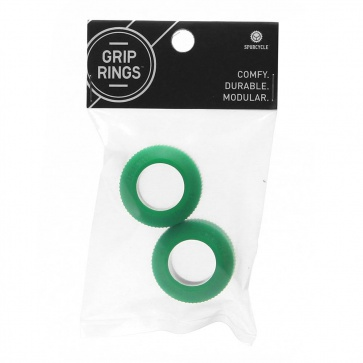 SPURCYCLE GRIPRING SPARES (2xRINGS) GREEN