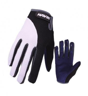 Havik 502 Mashfull Cycling Gloves Black White