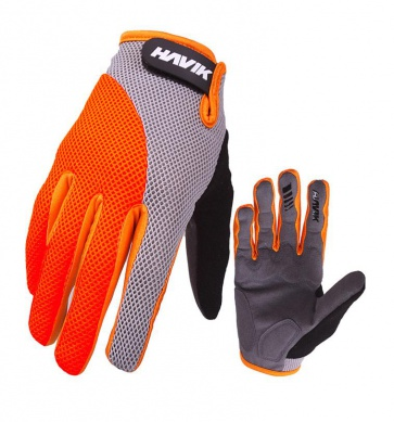 Havik 504 Mashfull Cycling Gloves Gray Orange