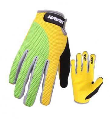 Havik 508 Mashfull Cycling Gloves Yellow Green