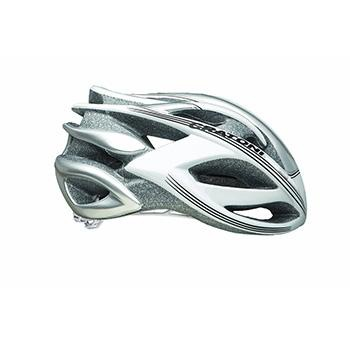 Cratoni Bullet Road Helmet White Silver