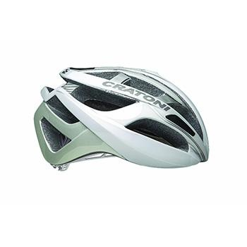 CRATONI C-BREEZE WHITE/SILVER ROAD HELMET
