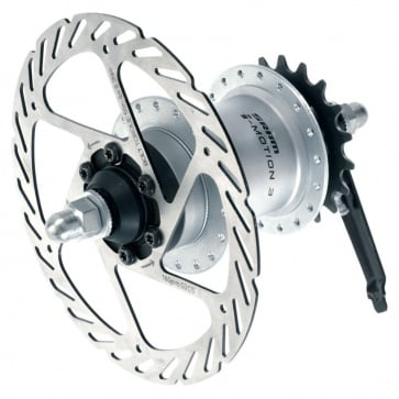 SRAM i-MOTION 3-SPEED REAR HUB 32H FW 6-BOLT DISC 135mm