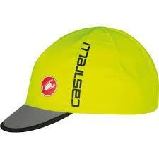 Castelli Free Cycling Cap Yellow Charcoal