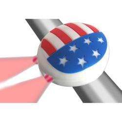 Clean Motion Light Rear Boogie Bug USA Flag