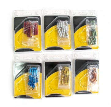 Jagwire Cable End Cap Kit CHA099 4mm 6colors