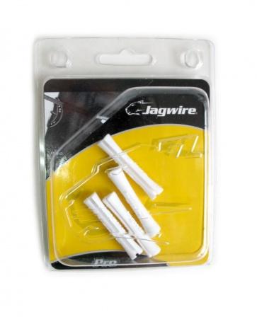 Jagwire CHA054 Tube Tops Pro Shifter White 4pcs