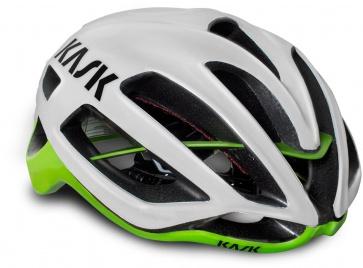 Kask Protone Helmet White-Lime