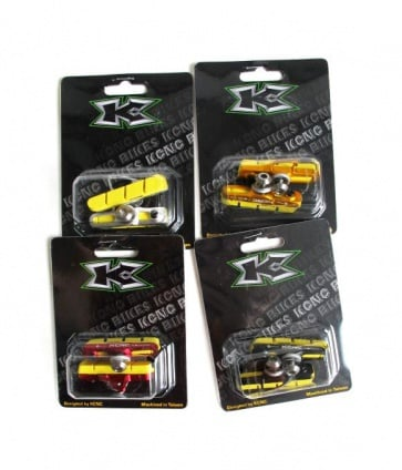 KCNC C7 Swisstop King Yellow Carbon Rim Brake Pads Set