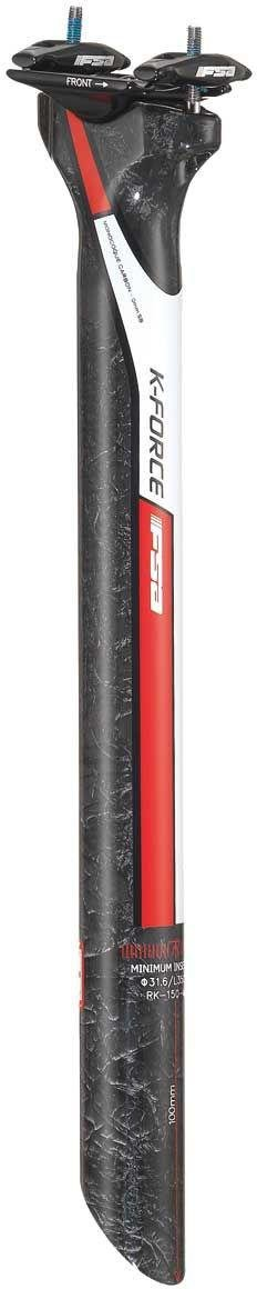 Fsa K-force Light UD Di2 31.6x350mm 0mm Setback Seatpost Red