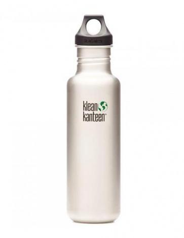 Klean Kanteen Classic Water Bottle 800ml Silver
