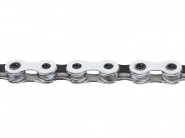 KMC X9 bicycle chain 9speed white black