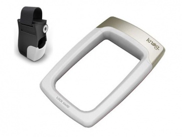 Knog Strongman cycling bicycle u lock security white