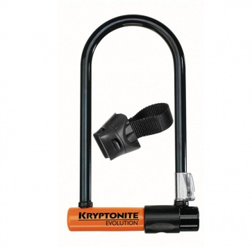 "KRYPTONITE EVOLUTION SERIES 4 ULOCK STD w/ FLEXFRAME BRKT 4""x9"""