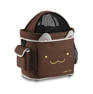 Lotus Bicycle Bag Pet Carrier SH-049PETR