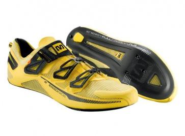Mavic Huez Road Bike Shoes Yellow