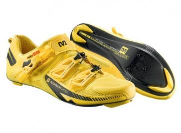 Mavic Zxellium Road Bike Cycling Shoes Yellow Maic