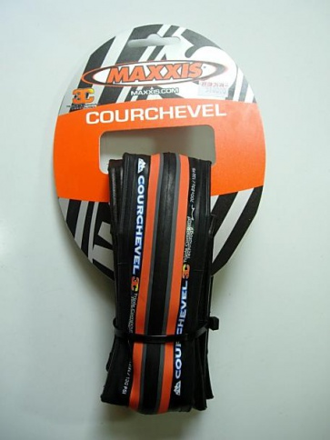 Maxxis Courchevel Road Racing Tire 700x23c Orange