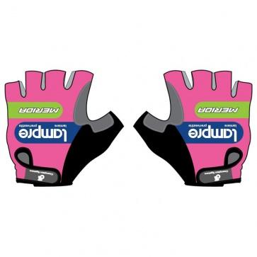 Merida Lampre Team Gloves Half Fingers
