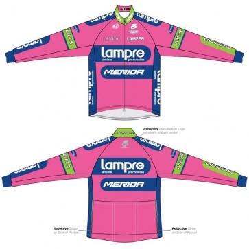 Merida Lampre Team Wind Jacket Long Sleeves