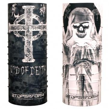 Btoperform Multi Functional Antimicrobial Headwear God Of Death [MH-118]
