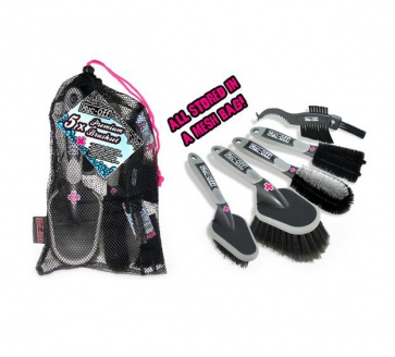 Muc-Off 5X Brush Set