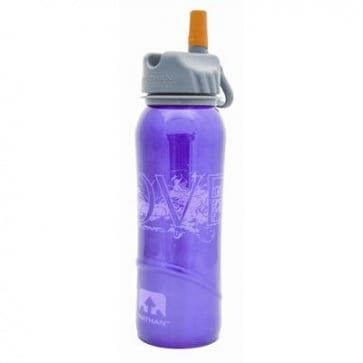Nathan Stainless Steel Water Bottle 700ml 24oz Love