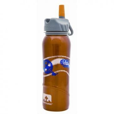 Nathan Stainless Steel Water Bottle 700ml 24oz Swim Bike Run