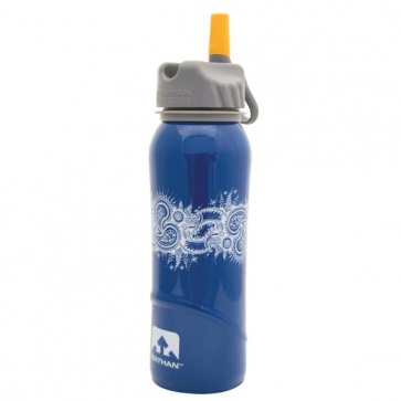 Nathan Stainless Steel Water Bottle 700ml 24oz Yoga