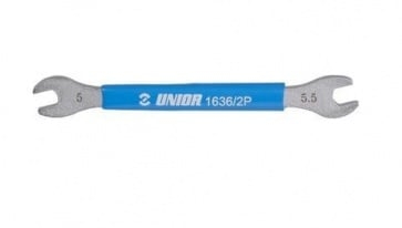 Unior 1636 spoke wrench 5 5.5mm bicycle tool