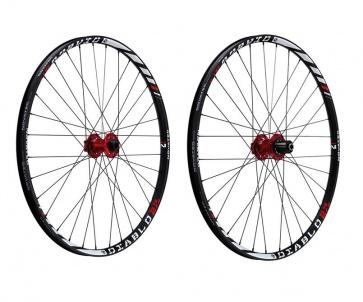 Novatec Diablo 27.5inch AM FR Shimano Wheelset