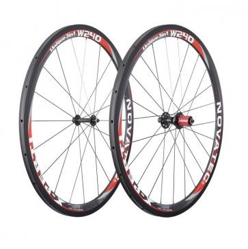 Novatec X-Perti W240 carbon wheelset 700c