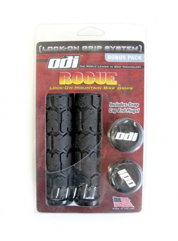 Odi Rouge Bicycle Bike grips Bonus Pack black