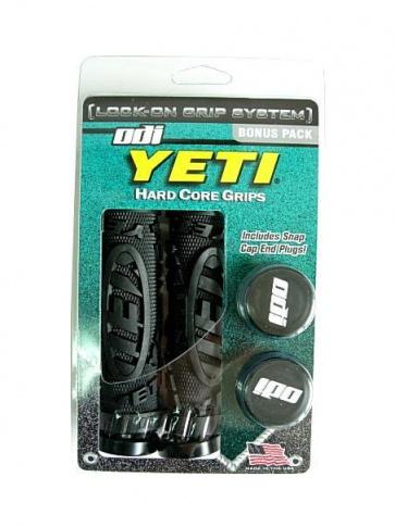 Odi Yeti Hard Core Grip Bicycle Bike Bonus Pack