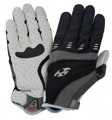OGK EXG-1 Long Finger Cycling Gloves black