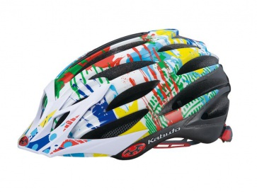 OGK Faro Bicycle Helmet Cycling Cateye Fit Paint Art