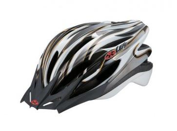 OGK Leff Cycling Helmet Super Light White Silver