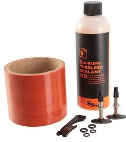 Orange Seal Tubeless kit, fat tire x 75mm - SubZero sealant