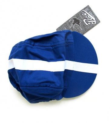 Pace Classic Blue White LIne Cycling Cotton Cap