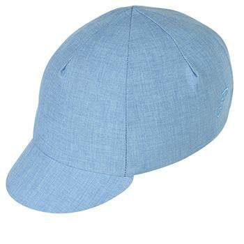 Pace Cotton Cap Traditional Crosshatch Blue