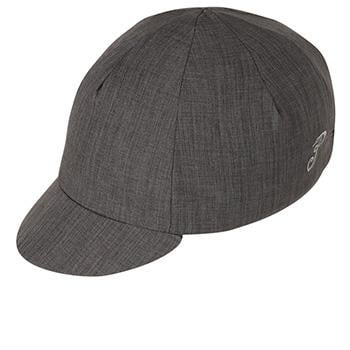 Pace Cotton Cap Traditional Crosshatch Charcoal