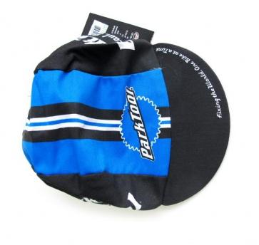 Pace Cycling Cotton Cap Parktool Blue Black