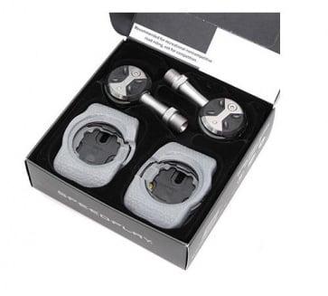 Speedplay Ultra Light Action Stainless Walkable Kit  Black