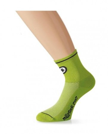 Assos milleSock evo7 Cycling Socks 2 pairs Green