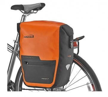 Ibera IB-BA20 PakRak Waterproof Panniers 30L Orange